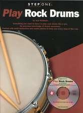 Step One Play Rock Drums