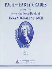 Bach for Early Grades, Book 1