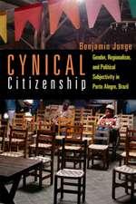 Junge, B:  Cynical Citizenship