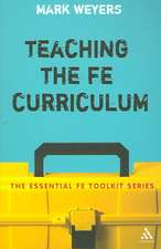 Teaching the FE Curriculum: Encouraging active learning in the classroom