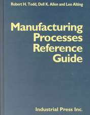 Manufacturing Processes Reference Guide