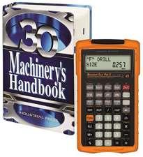 Machinery's Handbook 30th. Edition, Toolbox, & Calc Pro 2 Combo