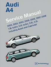 Audi A4 (B6, B7) Service Manual