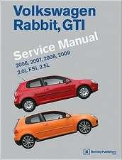 Volkswagen Rabbit, GTI (A5) Service Manual:  2.0l Fsi, 2.5l