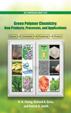 Green Polymer Chemistry: New Products, Processes, and Applications Volume 3