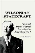 Wilsonian Statecraft