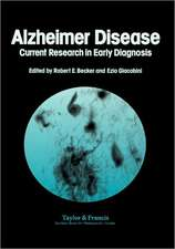 Alzheimer's Disease:  Current Research in Early Diagnosis