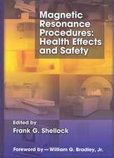 Magnetic Resonance Procedures