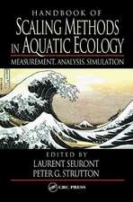 Handbook of Scaling Methods in Aquatic Ecology:  Measurement, Analysis, Simulation