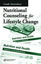 Nutritional Counseling for Lifestyle Change