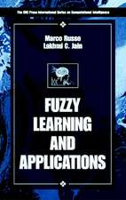 Fuzzy Learning and Applications