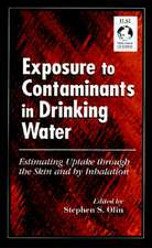 Exposure to Contaminants in Drinking Water