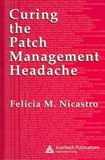 Curing the Patch Management Headache