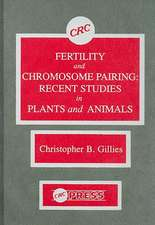 Fertility and Chromosome Pairing:  Recent Studies in Plants and Animals