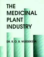 The Medicinal Plant Industry