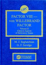 Factor VIII - Von Willebrand Factor, Volume II