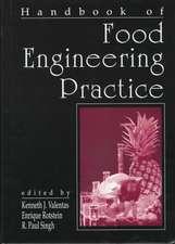 Handbook of Food Engineering Practice:  A Bibliography, Second Edition