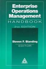 Enterprise Operations Management Handbook