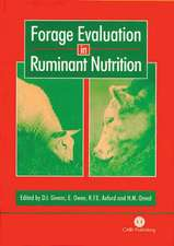 Forage Evaluation in Ruminant Nutrition:  Characterization, Utilization and Management