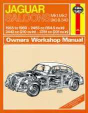 Jaguar Mk I & II, 240 & 340 Owners Workshop Manual