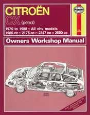 Citroen CX Owner's Workshop Manual