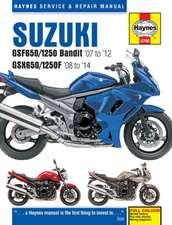 Suzuki Gsf650/1250 Bandit & GSX650/1250F (07 - 14)