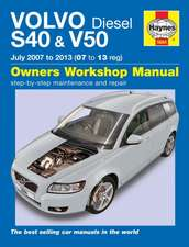 Volvo S40 & V50 Diesel Owner's Workshop Manual