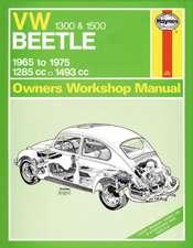 VW Beetle 1300/1500 Service and Repair Manual