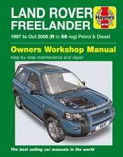 Land Rover Freelander (97 - Oct 06) Haynes Repair Manual