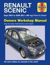 Renault Scenic Petrol & Diesel (Sept 03 - 06) Haynes Repair Manual