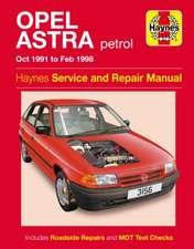 Opel Ascona Petrol (81 - 88) Haynes Repair Manual