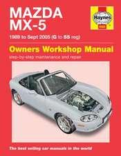 Mazda MX-5 (89 - 05) Haynes Repair Manual