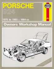 Porsche 924 & 924 Turbo (76 - 85) Haynes Repair Manual