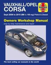 Vauxhall/Opel Corsa Petrol & Diesel (Sept 06 - 10) Haynes Repair Manual