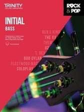 Trinity College London Rock & Pop 2018 Bass Initial Grade