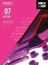 Trinity College London Rock & Pop 2018 Guitar Grade 7 CD Only