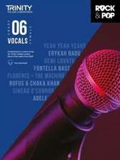Trinity College London Rock & Pop 2018 Vocals Grade 6