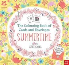 The Colouring Book of Cards and Envelopes: Summertime