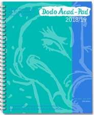 Dodo Acad-Pad 2018-2019 Mid Year Desk Diary, Academic Year, Week to View