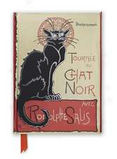 Steinlen: Tournée du Chat Noir (Foiled Journal)