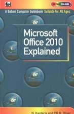 Microsoft Office 2010 Explained