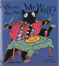 What's the Time, Mr. Wolf? [With Finger Puppet]:  Jumping on the Bed