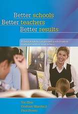 Better Schools, Better Teachers, Better Results:  A Handbook for Improved Performance Management in Your School