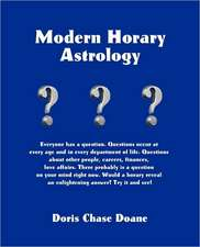 Modern Horary Astrology