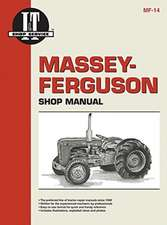 Massey-Ferguson Shop Manual Models To35 To35 Diesel F40+
