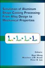 Simulation of Aluminum Shape Casting Processing: From Alloy Design to Mechanical Properties