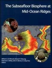 The Subseafloor Biosphere at Mid–Ocean Ridges