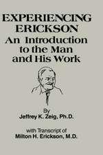 Experiencing Erikson