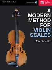 A Modern Method for Violin Scales [With Access Code]