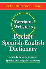 Merriam-Webster's Pocket Spanish-English Dictionary:  The Archetypal World of Anima and Animus
